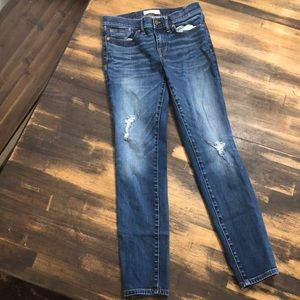 Madewell skinny skinny jeans sz 28
